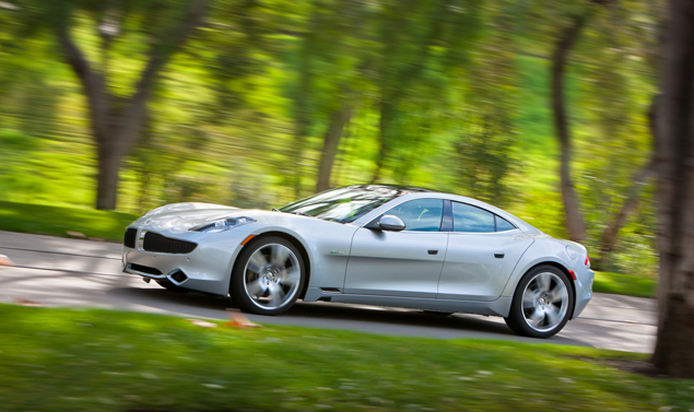 Fisker Karma - Grey - Design