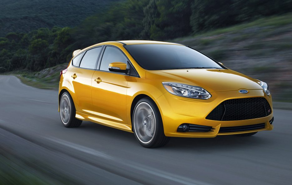 Ford Focus ST 2012 - Anteriore in motion