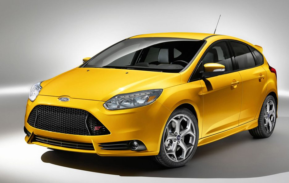 Ford Focus ST 2012 - Profilo frontale