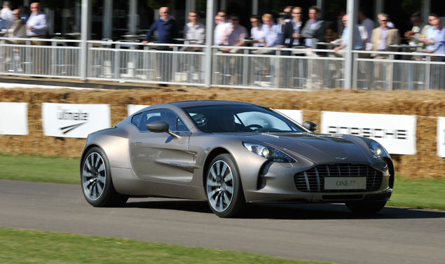 Goodwood Festival of Speed 2011 - Aston Martin
