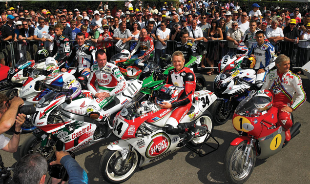 Goodwood Festival of Speed 2011 - Campioni in moto