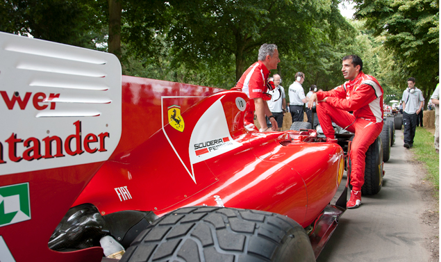 Goodwood Festival of Speed 2011 - Ferrari F1