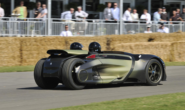 Goodwood Festival of Speed 2011 - Peugeot