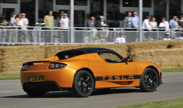 Goodwood Festival of Speed 2011 - Tesla
