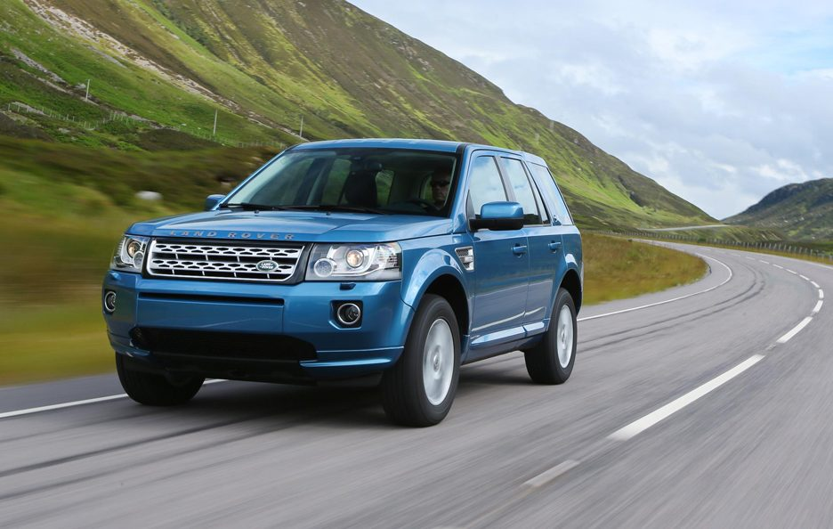 Land Rover Freelander 2013 - Frontale in motion
