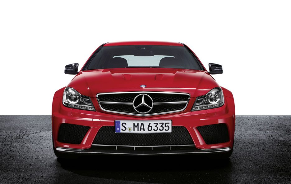 Mercedes C63 AMG Black Series - Frontale basso