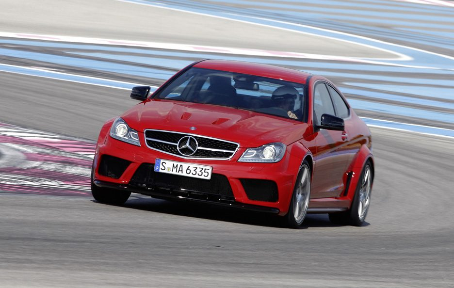 Mercedes C63 AMG Black Series - In motion