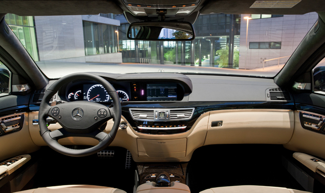 Mercedes Classe S Grand Edition - Abitacolo