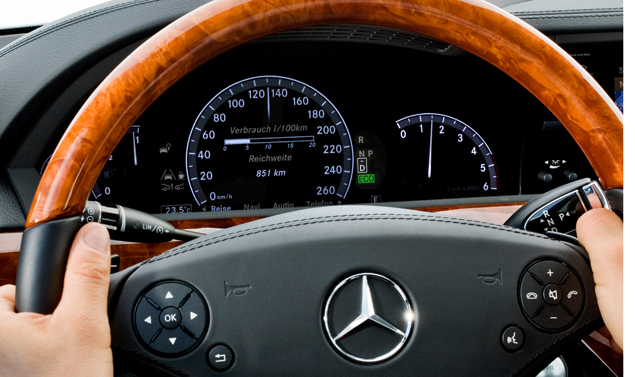Mercedes Classe S Grand Edition - Il volante