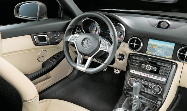 Mercedes SLK Interni