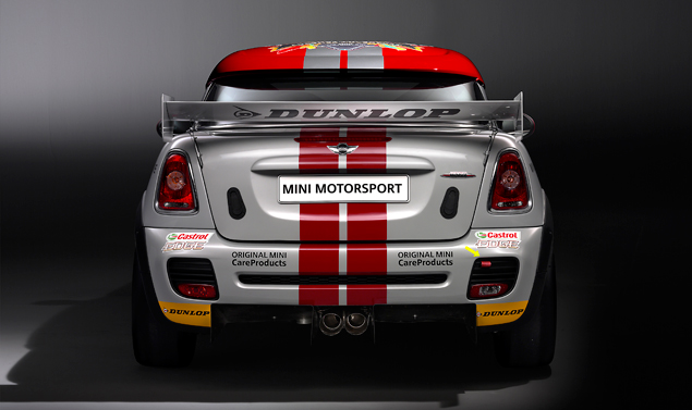 Mini John Cooper Works Coupé Endurance - Posteriore