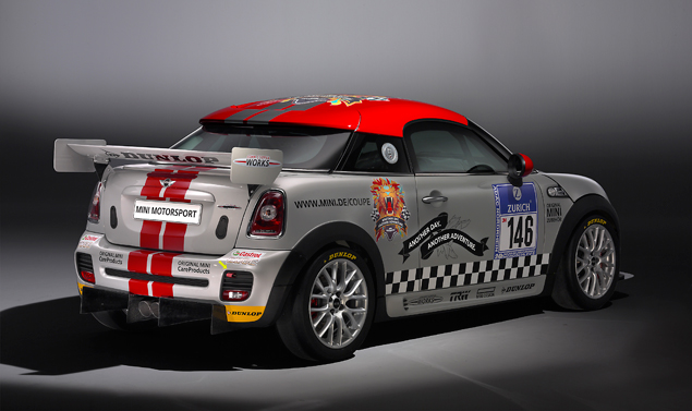 Mini John Cooper Works Coupé Endurance - Retrotreno