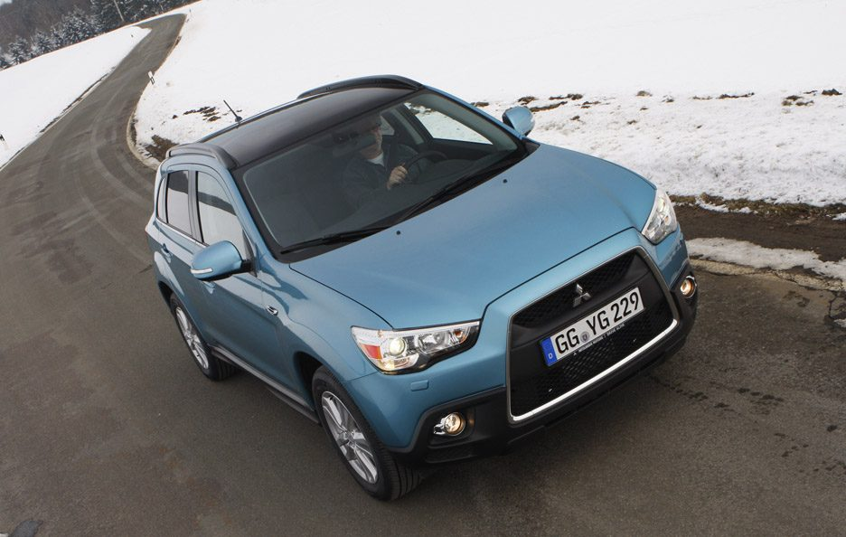 Mitsubishi ASX - Frontale in motion