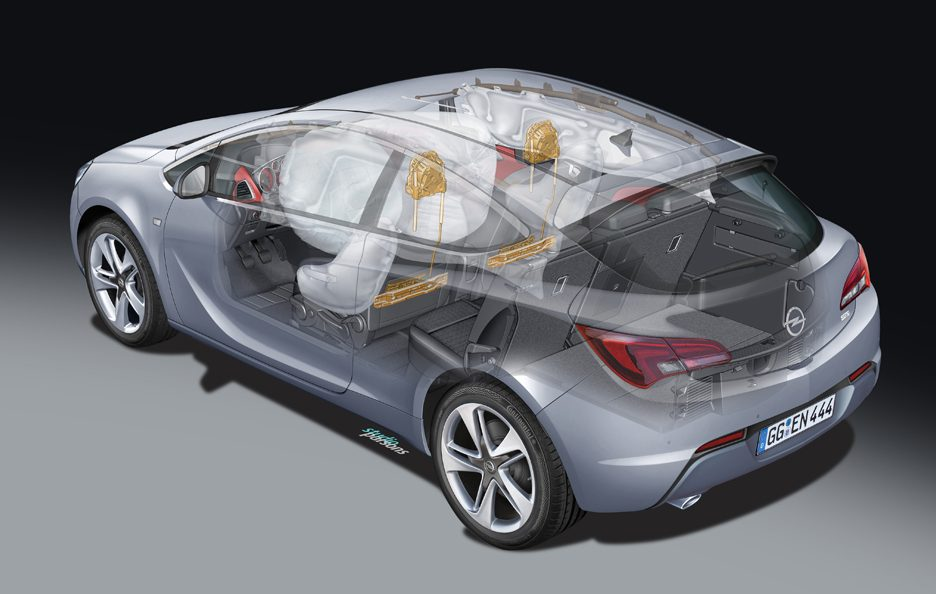 Opel Astra GTC - Passive Safety Systems