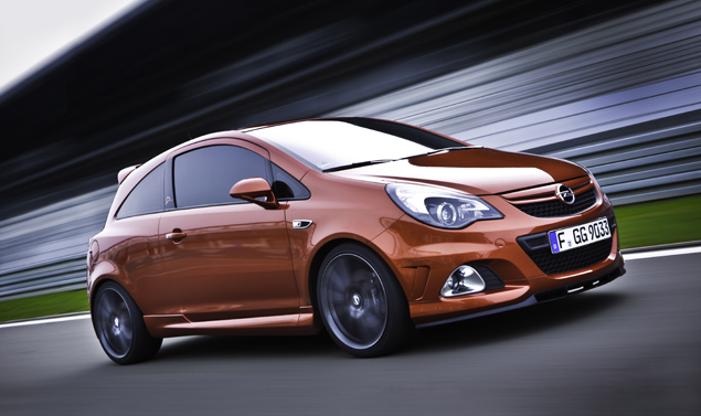 Opel Corsa OPC Laterale