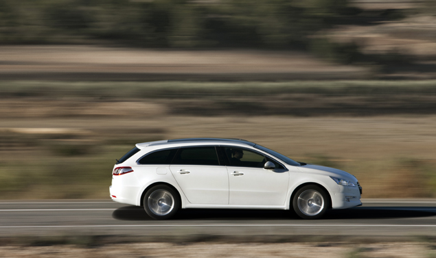 Peugeot 508 SW Laterale