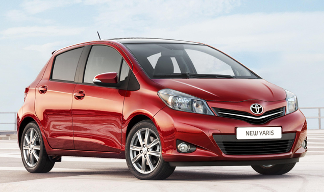 Toyota Yaris - Il frontale
