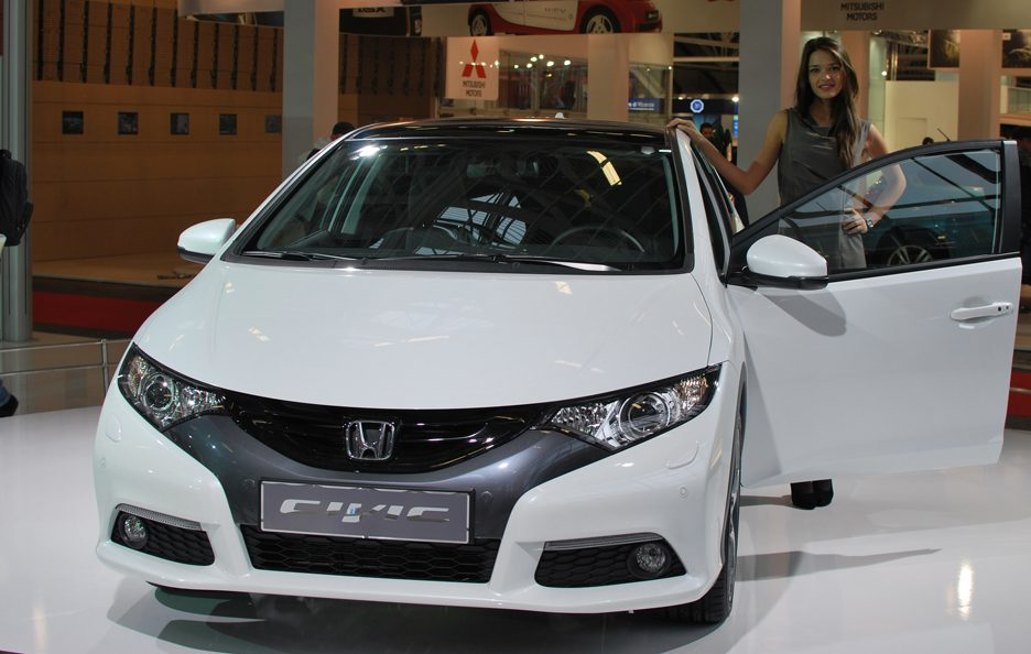 3 - Motor Show 2011 - Honda Civic frontale