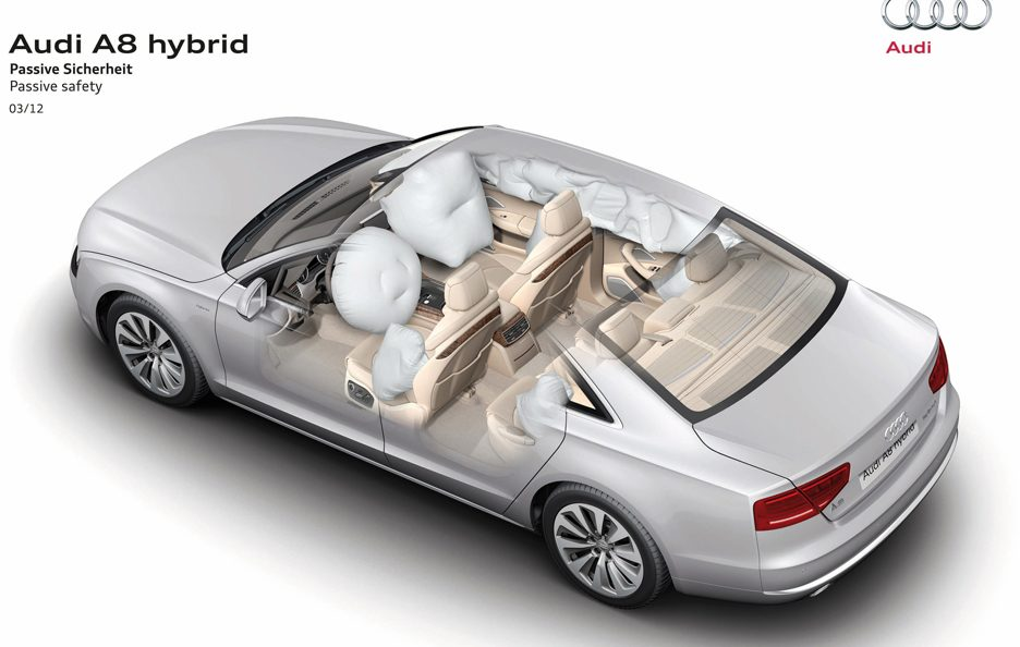 Audi A8 Hybrid - Airbags
