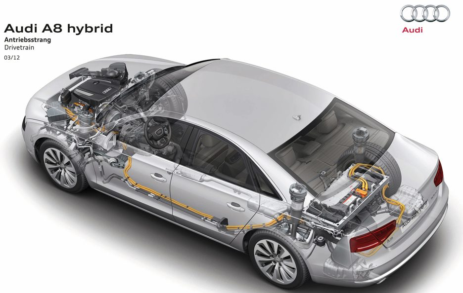 Audi A8 Hybrid - Chassis
