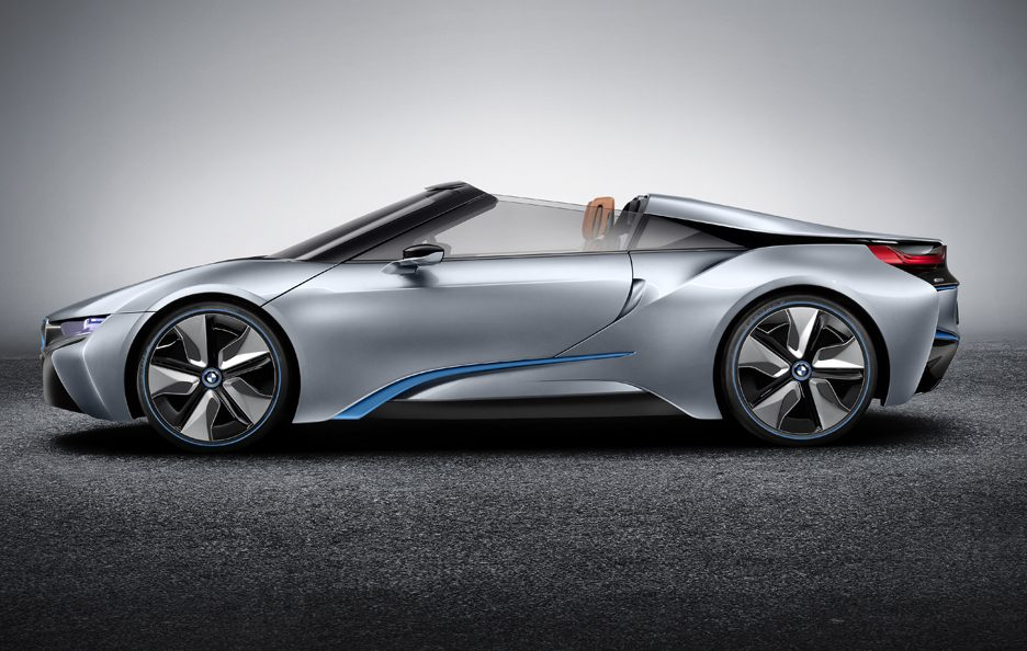 BMW i8 Concept Spyder - Laterale