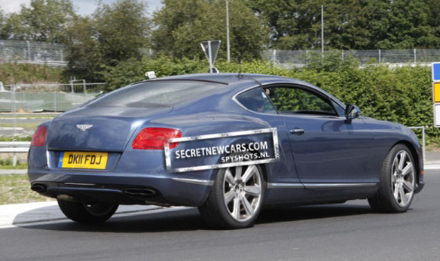 Bentley Continental GT Speed - Coda