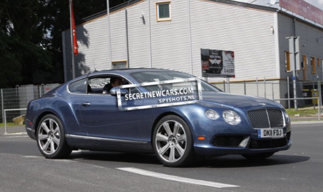 Bentley Continental GT Speed - Frontale