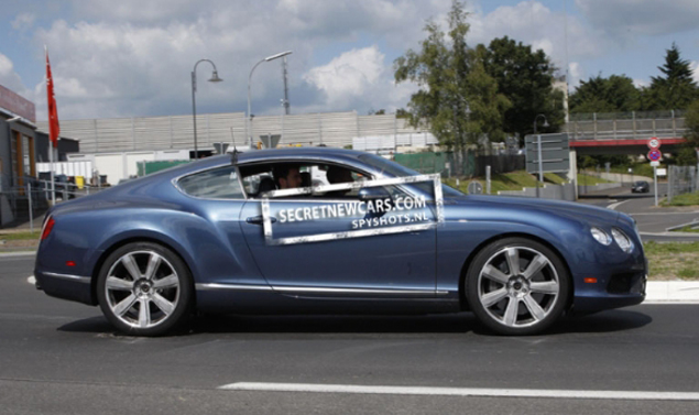 Bentley Continental GT Speed - La linea