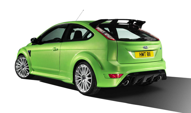 Ford Focus RS - Il posteriore
