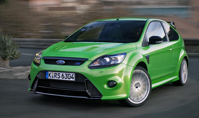 Ford Focus RS - L'anteriore