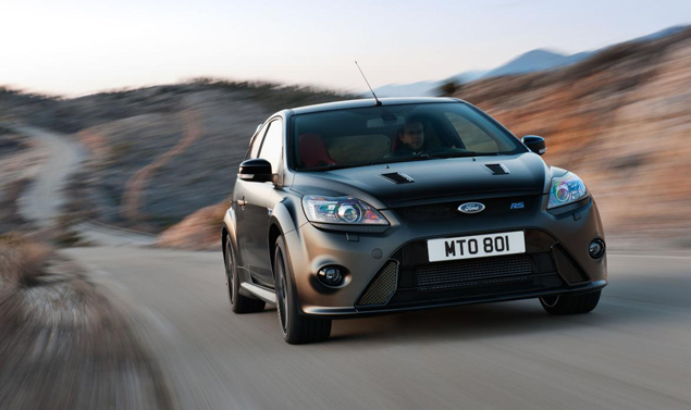 Ford Focus RS500 - Il frontale