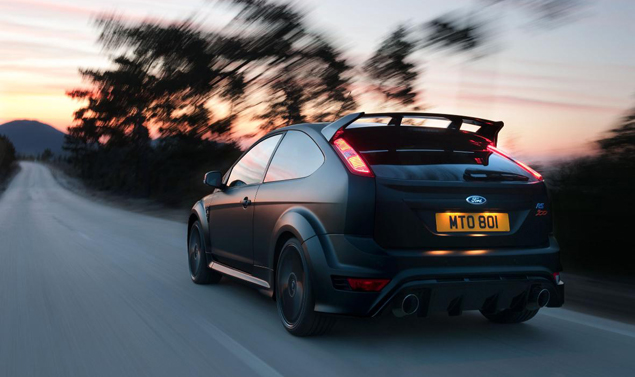 Ford Focus RS500 - Il posteriore