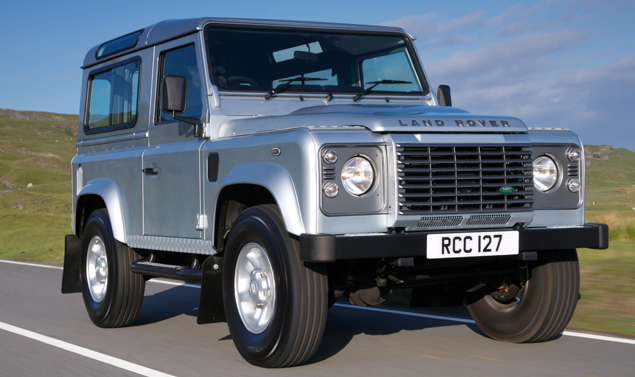 Land Rover Defender - Il frotnale