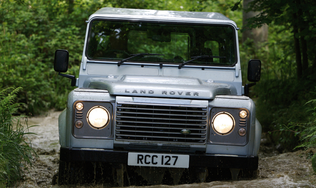 Land Rover Defender - Il muso