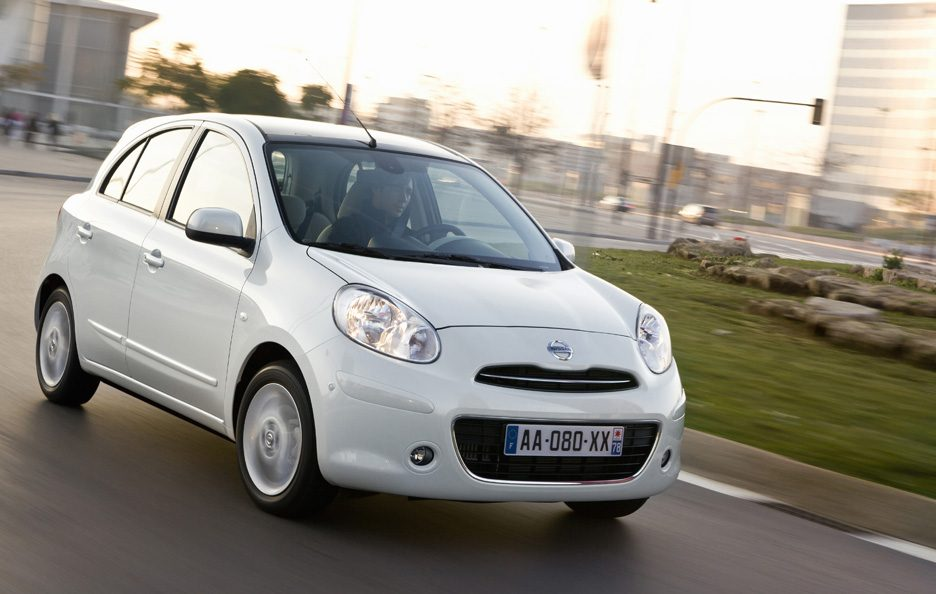 Nissan Micra - Frontale