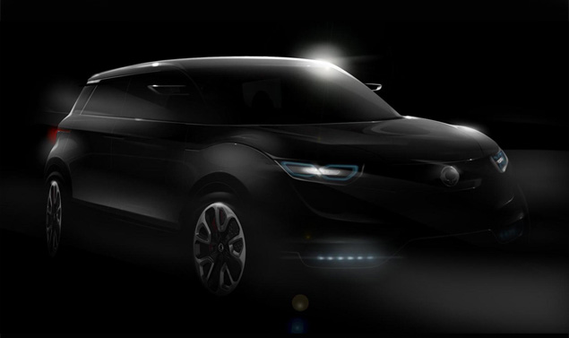SsangYong XIV1, il primo teaser