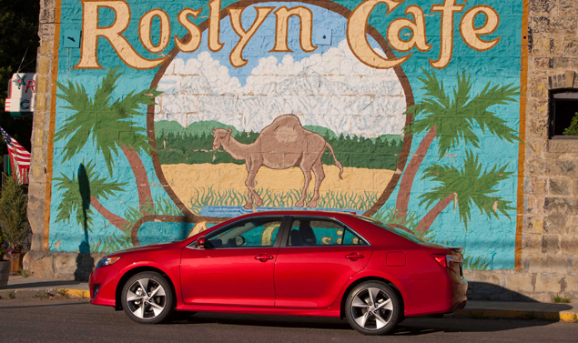 Toyota Camry 2012 - In rosso