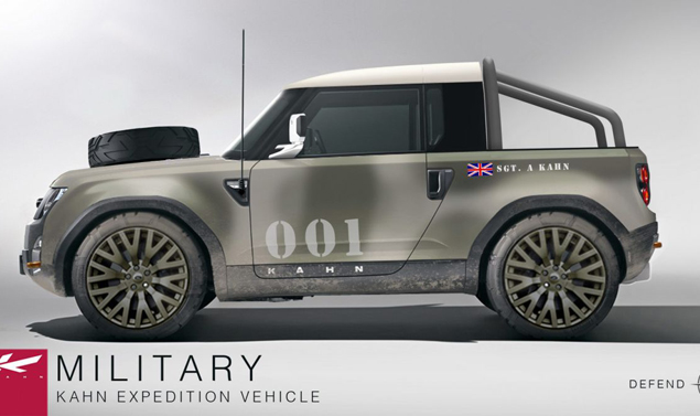 Project Kahn - Land Rover DC 100 - Military