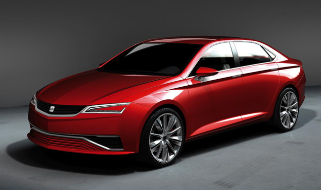 Seat IBL Concept - Frontale