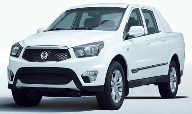 Ssangyong SUT-1 - Frontale