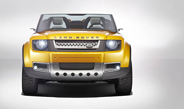 Land Rover DC100 Sport - Frontale