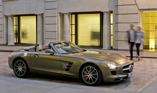 Mercedes SLS AMG Roadster - Design
