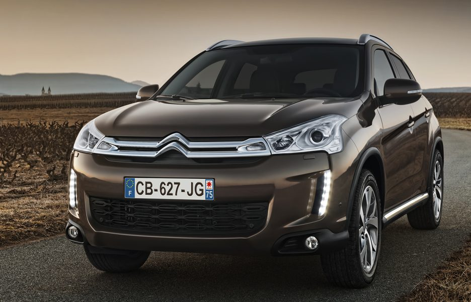 citroen c4 aircross foto panoramauto. Black Bedroom Furniture Sets. Home Design Ideas