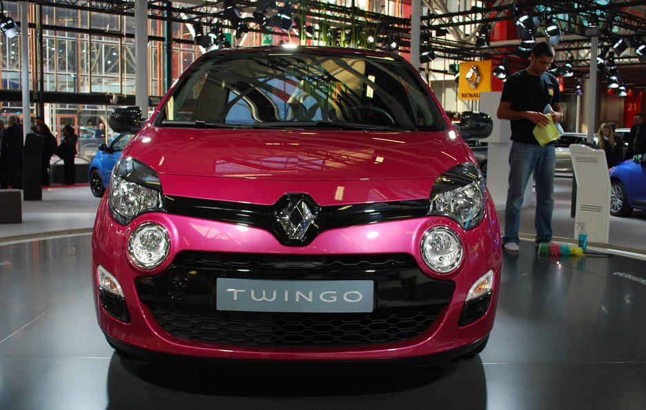 55 - Motor Show 2011 - Renault Twingo restyling frontale