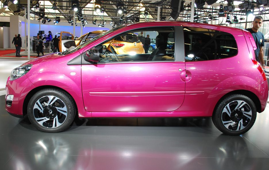 56 - Motor Show 2011 - Renault Twingo restyling profilo