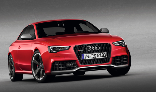 Audi RS5 - Il frontale