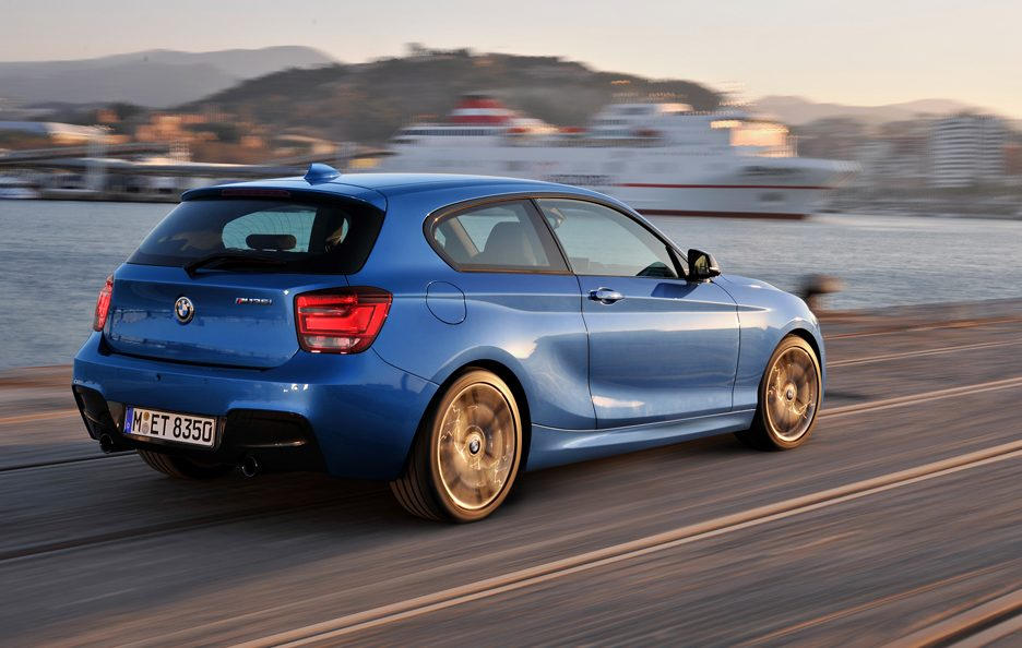 BMW Serie 1 M Sport - Posteriore in Motion