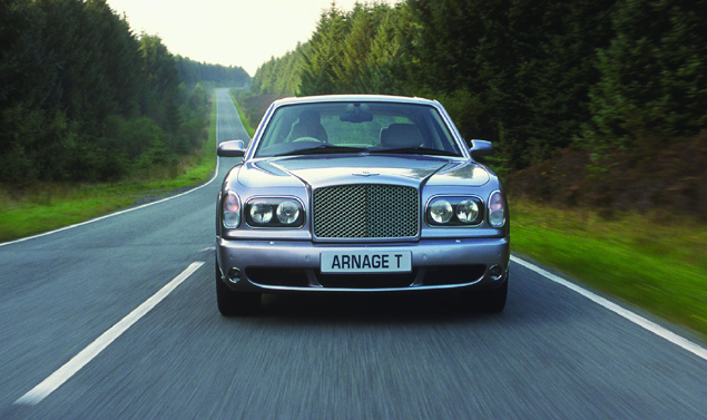 Bentley Arnage frontale
