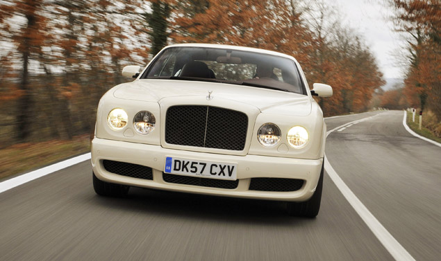 Bentley Brooklands frontale