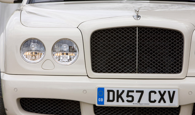 Bentley Brooklands griglia anteriore